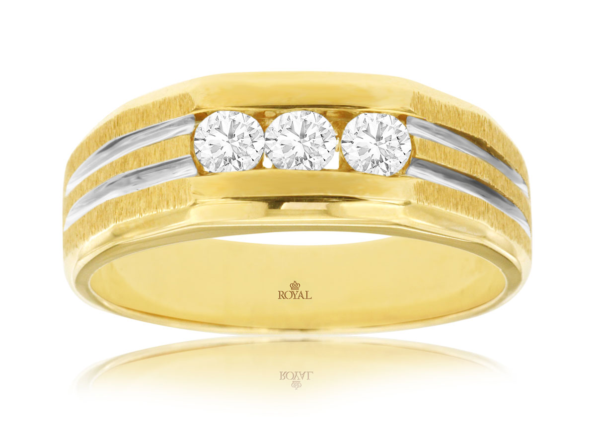 His Hers Diamond Ring Royal Jewelry